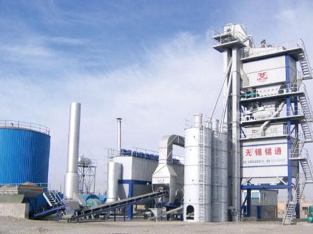 锡通QLB-X2000下置式沥青混合料搅拌设备