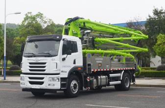 中聯重科ZLJ5200THBJE  32X-4RZ泵車高清圖 - 外觀