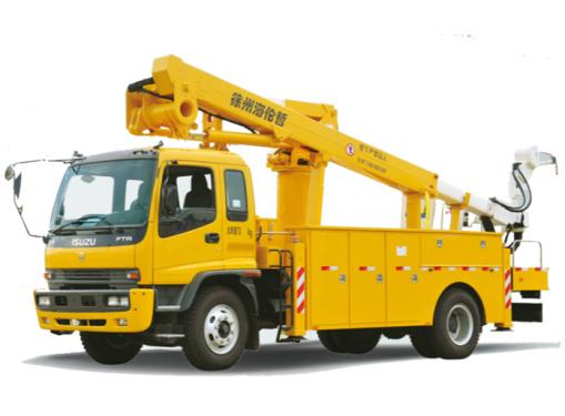 海伦哲XHZ5132JGKQ5/XHZ5132JGKD5庆铃/东风17.8m绝缘臂高空作业车