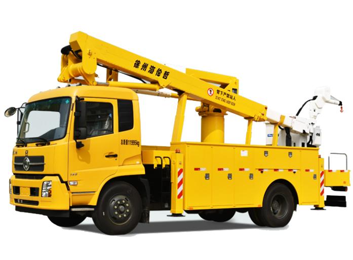 海伦哲XHZ5120JGKD5东风17.6m绝缘臂高空作业车高清图 - 外观
