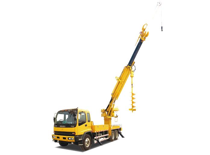 海伦哲XHZ5200TXGD5东风21m 线杆综合作业车