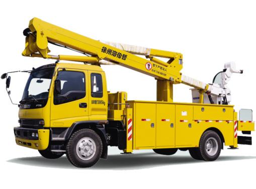 海伦哲XHZ5131JGKQ5/XHZ5131JGKD5庆铃/东风20.6m绝缘臂高空作业车