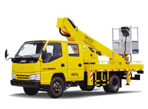 海伦哲XHZ5066JGKJ5江铃14.7m伸缩臂高空作业车