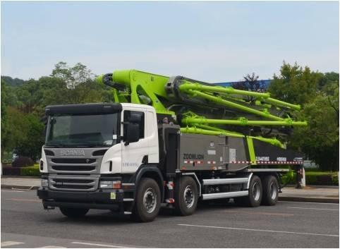 中联重科ZLJ5440THBSE  56X-6RZ泵车