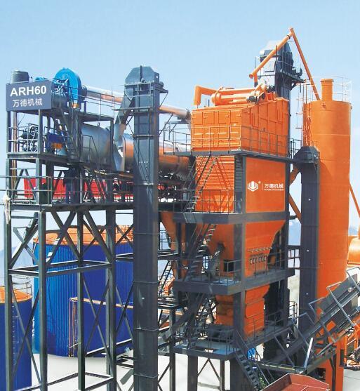 镇江万德ARH60沥青混合料厂拌热再生设备