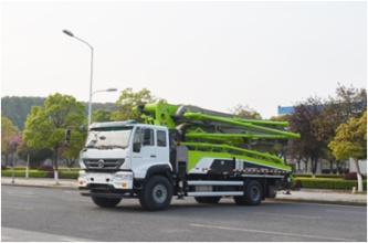 中联重科ZLJ5230THBTE  37X-5RZ泵车高清图 - 外观