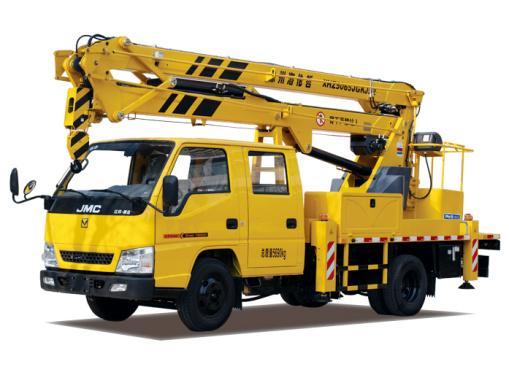 海伦哲XHZ5065JGKJ52江铃15.2m折叠臂高空作业车