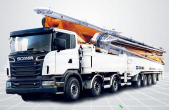 中联重科101-7RZ碳纤维臂架泵车高清图 - 外观