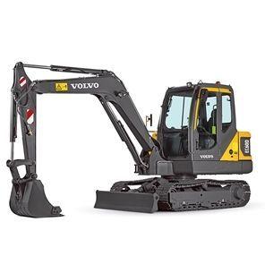沃尔沃EC60D小型挖掘机