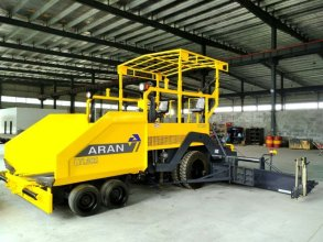 镇江阿伦LTL60S型轮胎式沥青混凝土摊铺机高清图 - 外观
