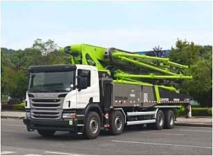 中联重科ZLJ5440THBBE  56X-6RZ泵车