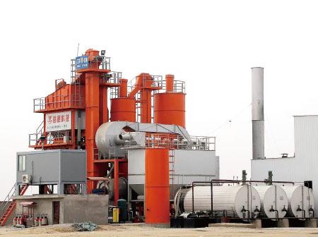 锡通QLB1500沥青混合料搅拌设备