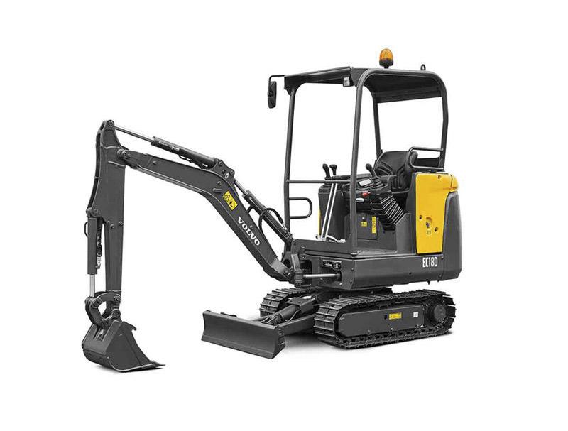 沃尔沃EC18D小型挖掘机