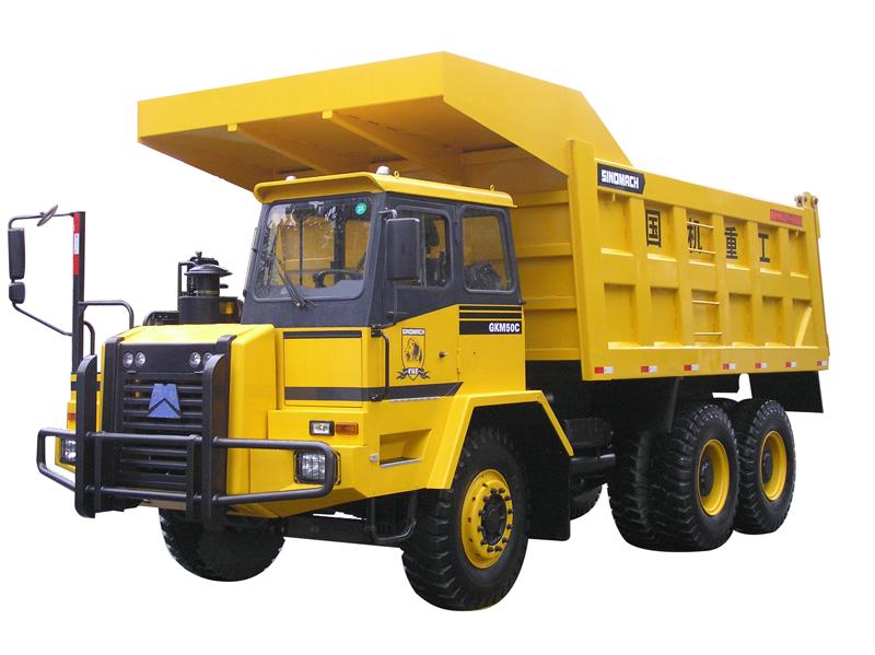 国机洛阳GKM65C系列非公路自卸车高清图 - 外观