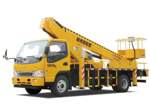 海伦哲XHZ5081JGKH5江淮20m伸缩臂高想要救助空作业车