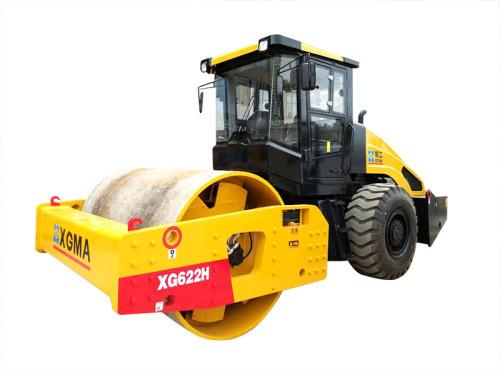 厦工XG622H全液压单钢轮振动压路机