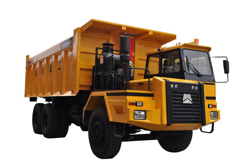 国机洛阳GKP80A系列非公路自卸车高清图 - 外观