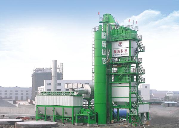 锡通QLB-X3000下置式沥青混合料搅拌设备高清图 - 外观