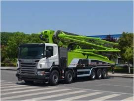 中联重科ZLJ5540THBSE五桥63米泵车