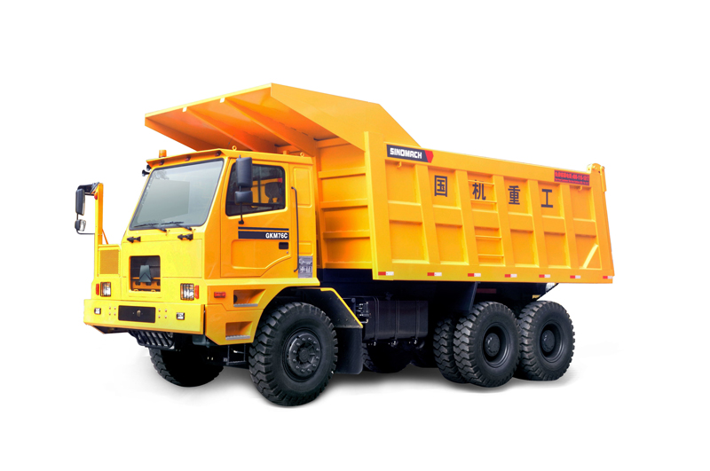 国机洛阳GKM80D系列非公路自卸车高清图 - 外观
