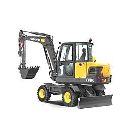 沃尔沃EW60C小型挖掘机