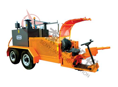 森远GFX-600自行式拖挂灌缝机高清图 - 外观