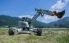 海山机械HSWE10T轮式挖掘机