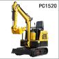 立派PC1520中小型挖掘机高清图 - 外观