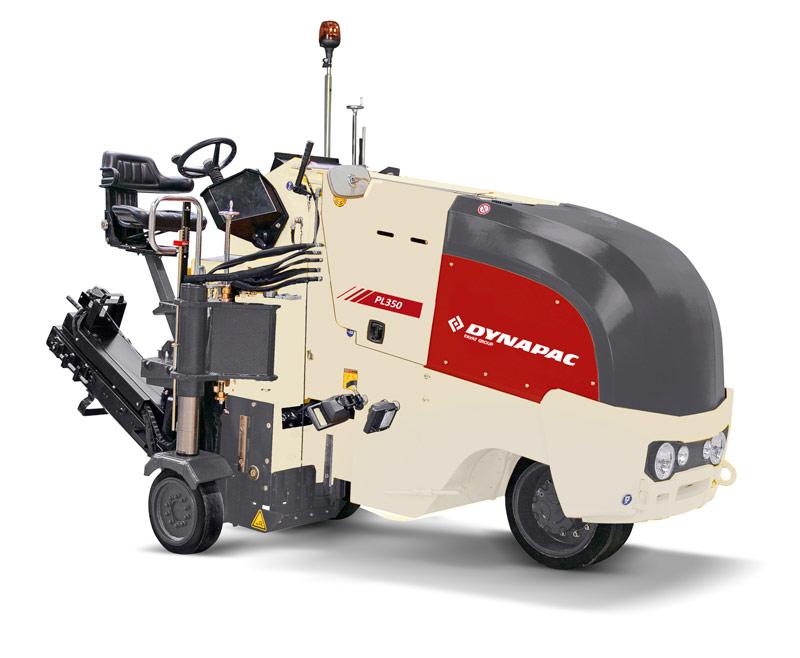 戴纳派克Dynapac PL 500铣刨机高清图 - 外观