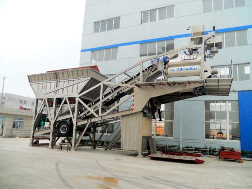 中凯路机YHZS-50水泥混凝土搅拌设备