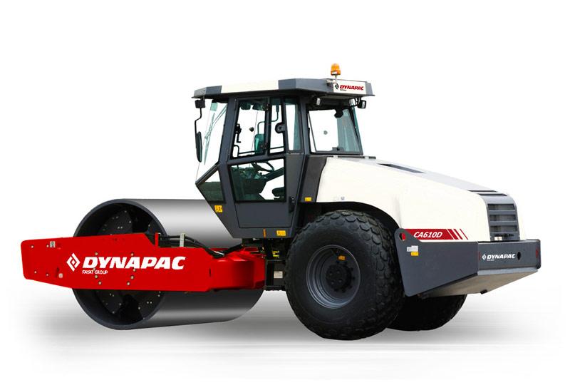 戴纳派克Dynapac CA610PD单钢轮压路机高清图 - 外观