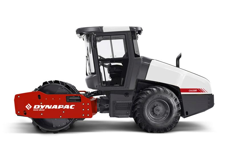 戴纳派克Dynapac CA1500D单钢轮压路机高清图 - 外观