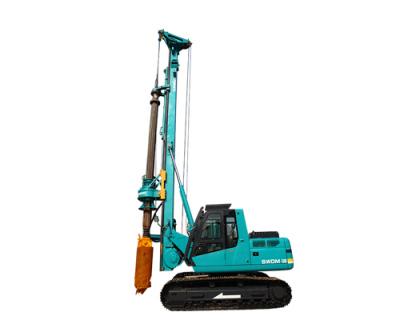 山河智能SWDM60小型多功能旋挖钻机