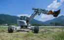 海山机械HSWE10T步履工作平台高清图 - 外观