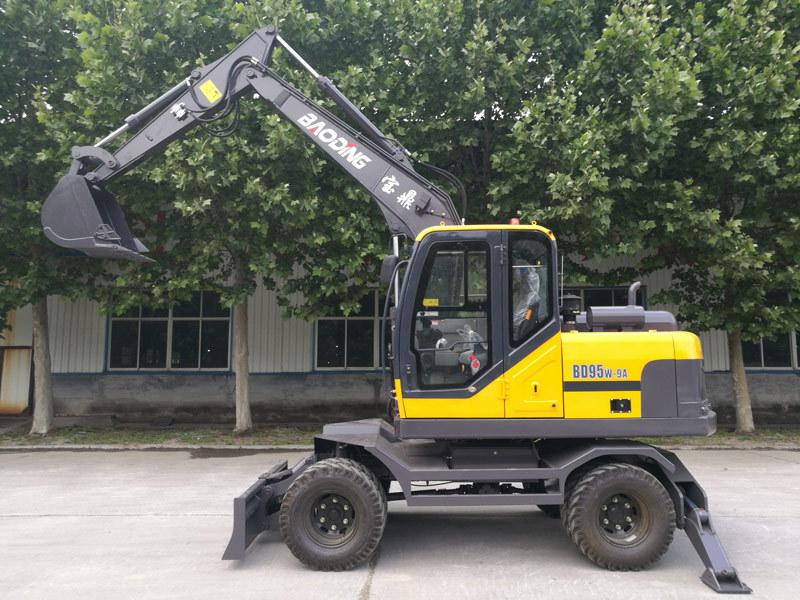 宝鼎BD95W-9A轮式挖掘机