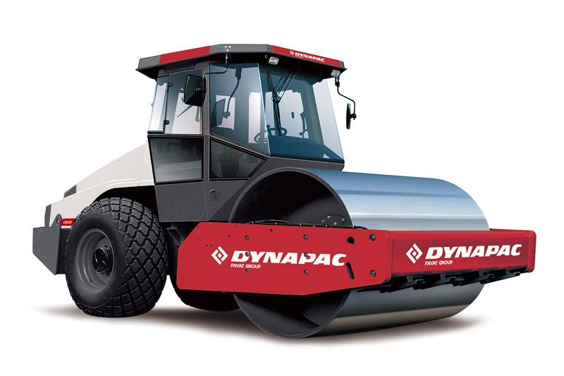 戴纳派克Dynapac CA250D单钢轮压路机高清图 - 外观