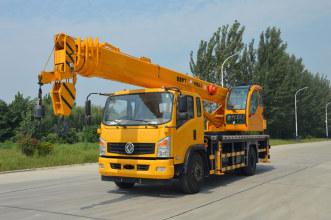 福康吊车16吨汽车起重机高清图 - 外观