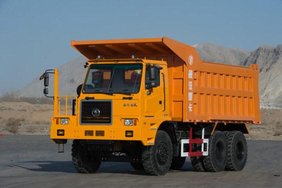 陕汽乌海SX5704ZPT36470吨非公路工程自卸车