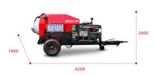易路美HOTBOX-S1000热再生养护车