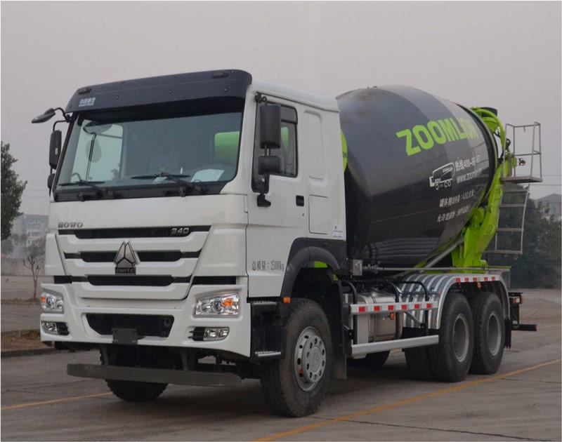 中联重科ZLJ5253GJBHE搅拌运输车高清图 - 外观