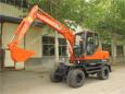 宝鼎BD80W-8轮式挖掘机高清图 - 外观