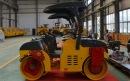 洛阳晟路JCC3033吨双钢轮压路机高清图 - 外观