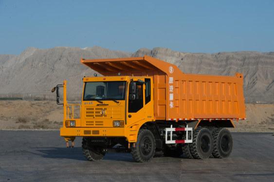 陕汽乌海SX5885ZPT38490吨非公路工程自卸车