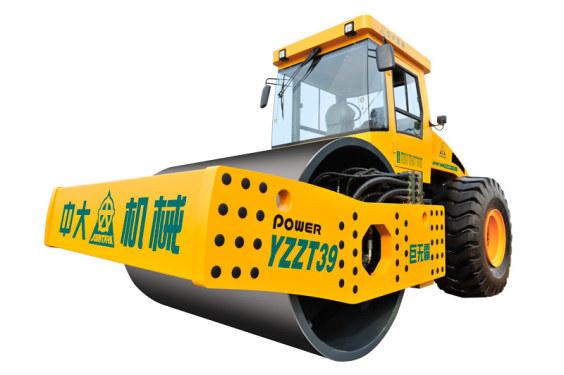 中大机械YZZT39智能调向单钢轮振动压路机