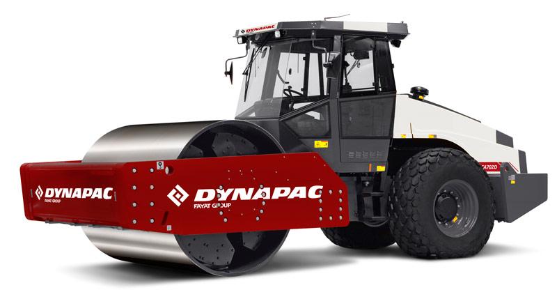 戴纳派克Dynapac CA702PD单钢轮压路机高清图 - 外观