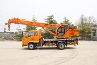 福康吊车588(8吨)汽车起重机高清图 - 外观