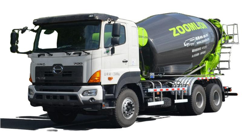 中联重科ZLJ5253GJBGE搅拌运输车高清图 - 外观