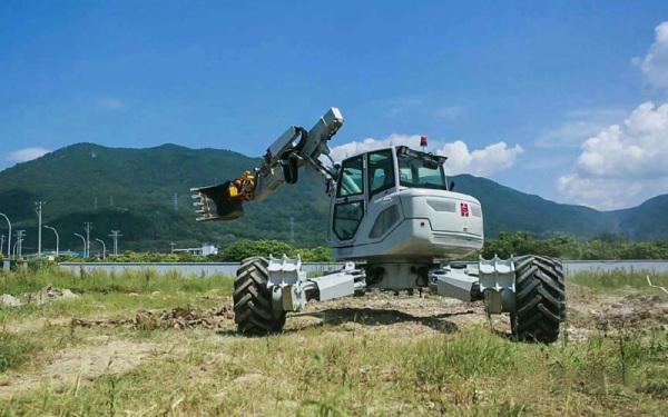 海山机械HSWE6T步履工作平台