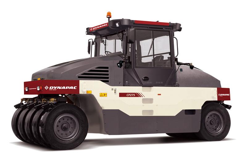 戴纳派克Dynapac CP275轮胎压路机高清图 - 外观
