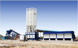中凯路机CBW-500稳定土搅拌设备